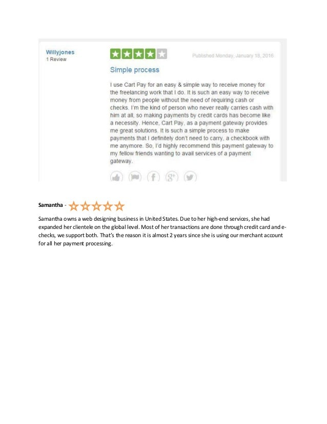 Cart pay solutions customer reviews on trustpilot 3 reheart Image collections