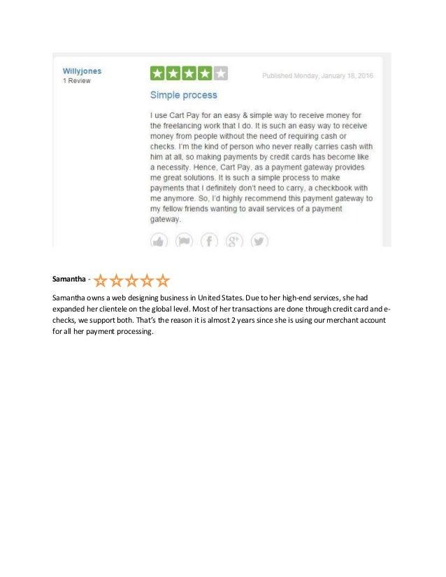 Cart Pay Solutions - Customer Reviews on Trustpilot