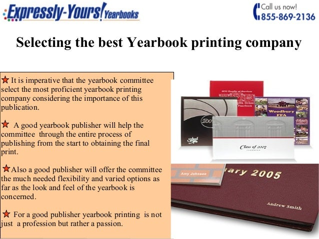 trust the best company for all your yearbook printing requirements