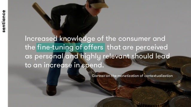 Increased knowledge of the consumer and the fine-tuning of offers that are perceived as personal and highly relevant should ...