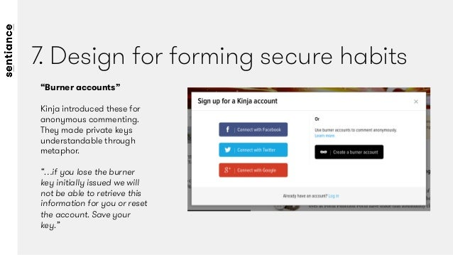 Reward secure behaviour  Users that enable two-step security on their accounts will now receive a 10% discount off their mo...