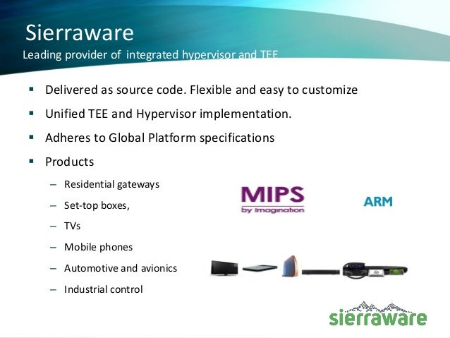 Trustzone secure os tee for mips Slide 2