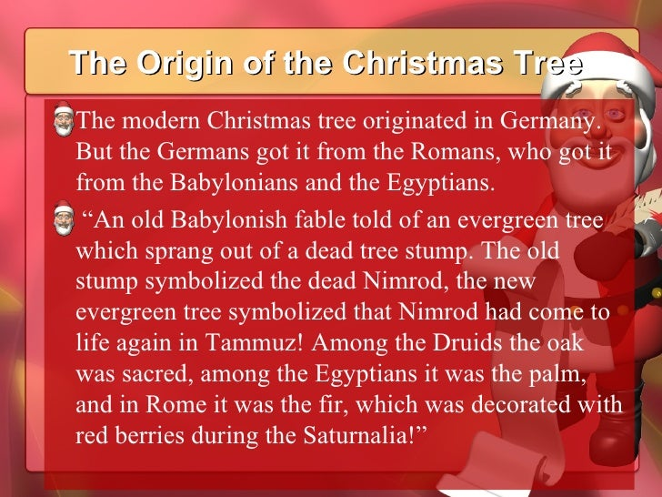 29 the origin of the christmas tree - Origin Of Christmas Tree