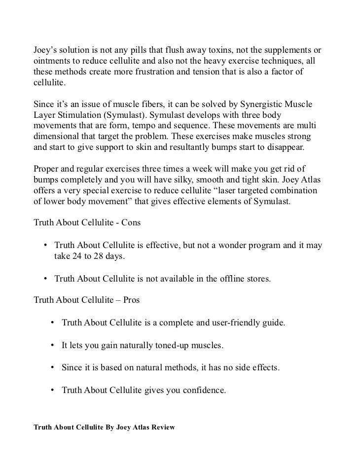Factor ebook cellulite