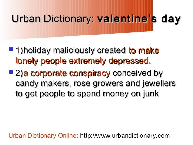 26. Urban Dictionary: Valentineu0027s ...