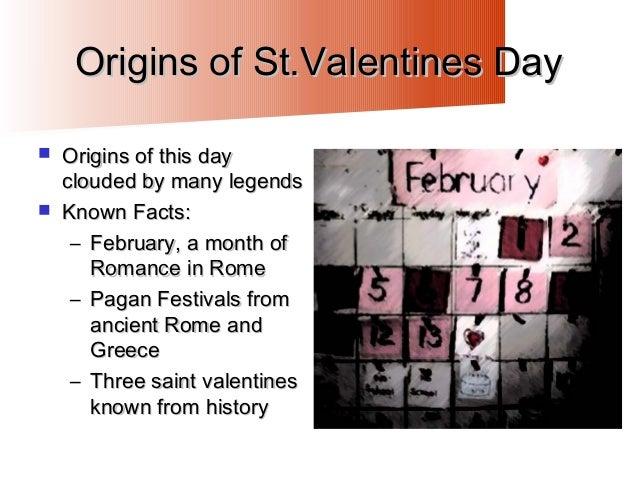 ... Valentines Day; 5. Origins ...