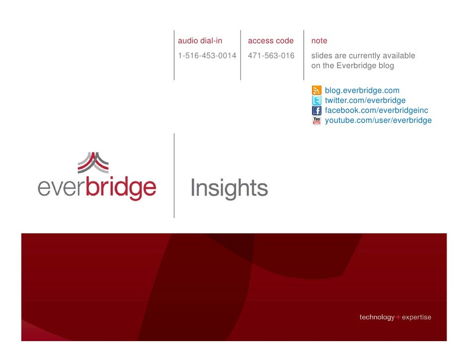 Everbridge Webinar: Truth and Consequences in Emergency Notification