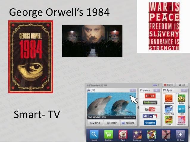 George Orwell's 1984Smart- TV