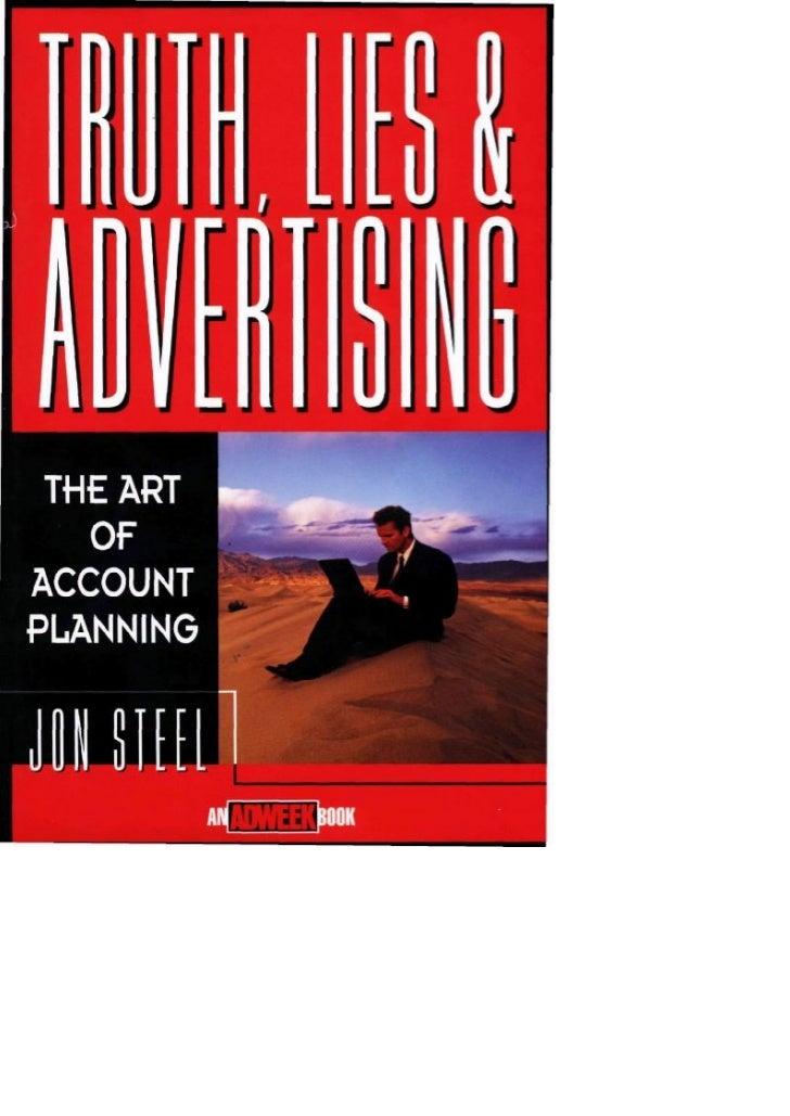 When advertisements lie