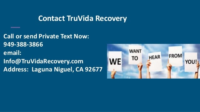 TruVida Recovery - Alcohol Rehab California
