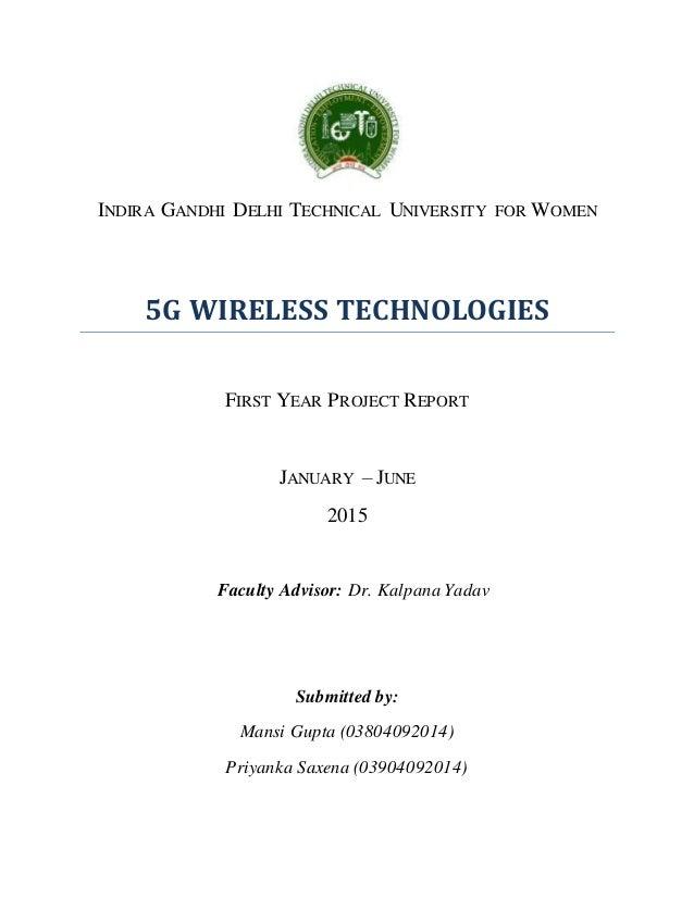 5g Technology Part 1