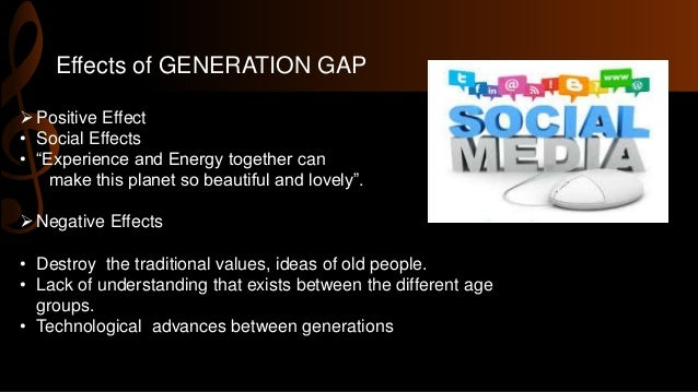 effects of generation gap in the workplace