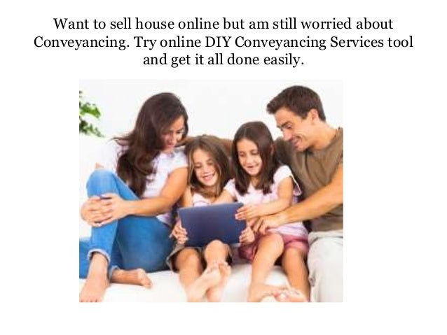 Try online conveyancing tools for easy to work