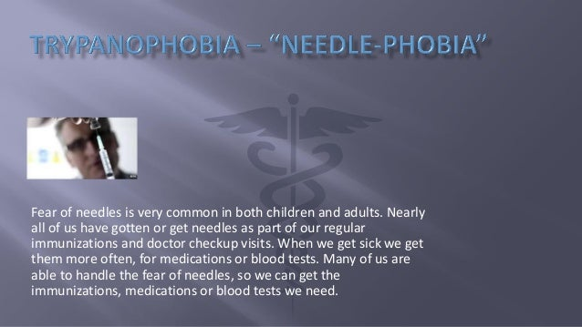 Trypanophobia – Fear of Needles