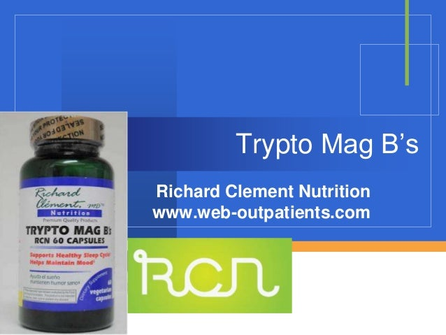 Company LOGO Trypto Mag B's Richard Clement Nutrition www.web-outpatients.com