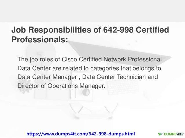 Try These 642-998 Cisco CCNP Data Center Exam Braindumps Actual Quest…