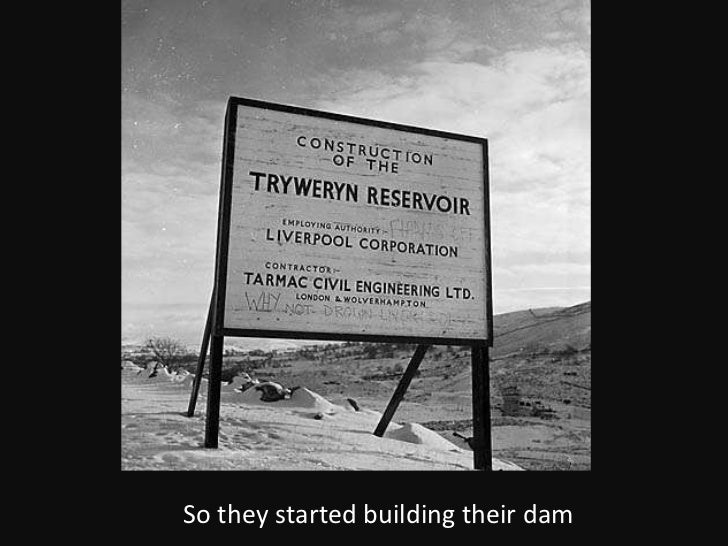 So they started building their dam