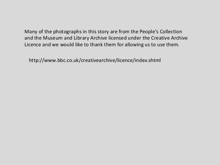 Many of the photographs in this story are from the People's Collection and the Museum and Library Archive licensed under t...