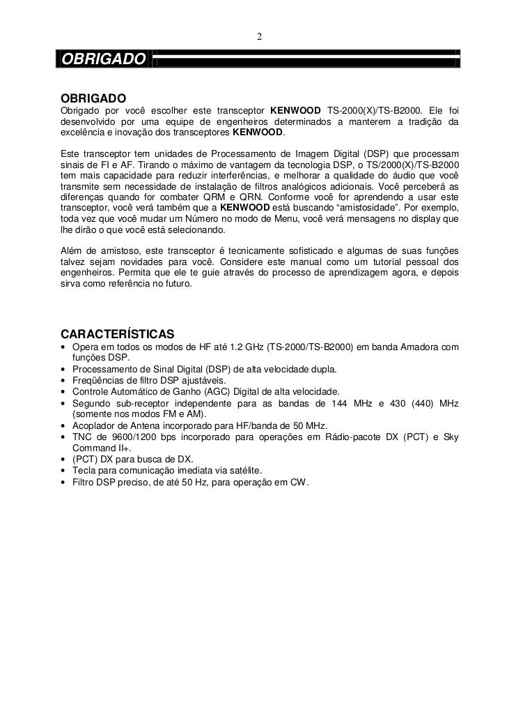 ts 2000 manual portugu s rh pt slideshare net manual ts 2000 portugues Kenwood 2000 Mods