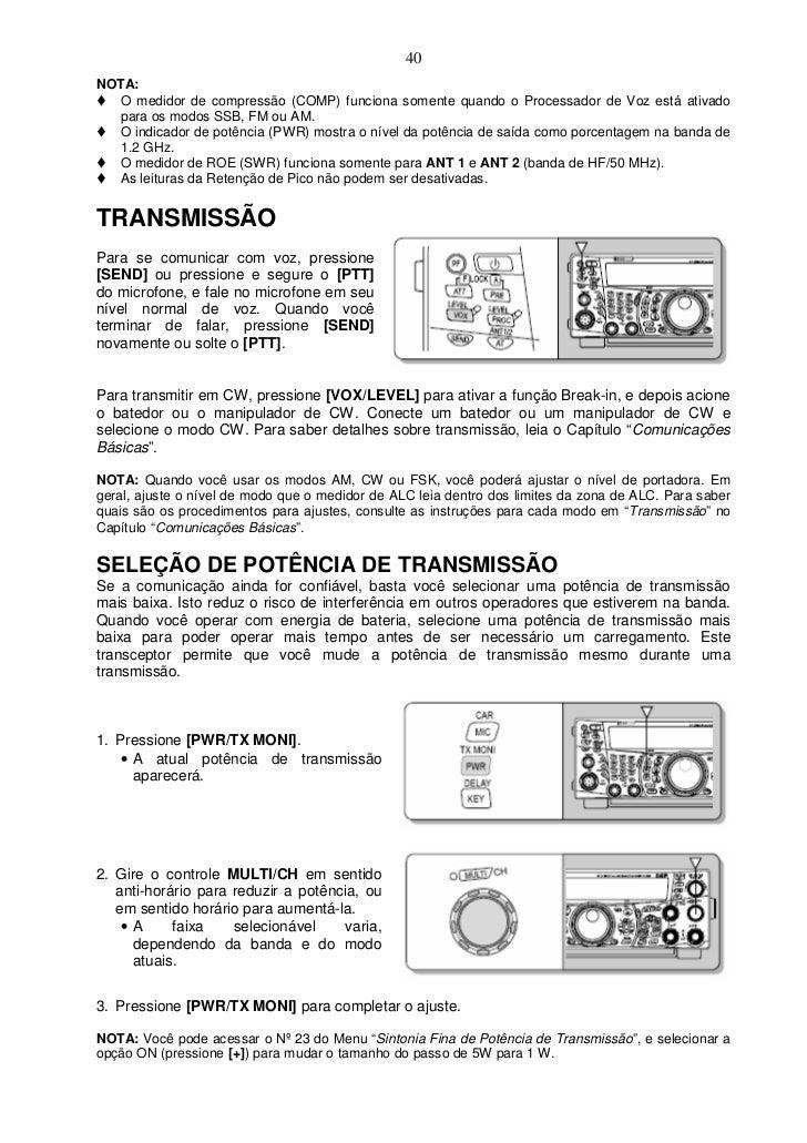 ts 2000 manual portugu s rh pt slideshare net FT- 2000 kenwood ts 2000 manual portugues
