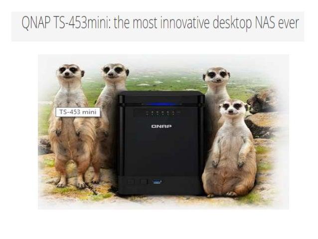 QNAP TS-étõšmttni:  the maast innovattve desktop NAS ever