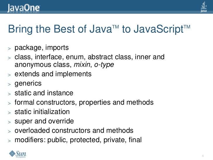 VJET bringing the best of Java and JavaScript together