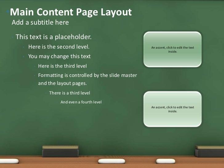 chalkboard powerpoint templates