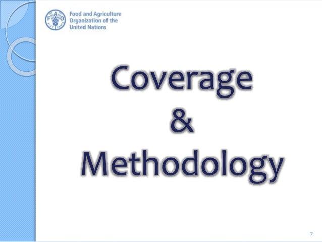 Coverage & Methodology 7