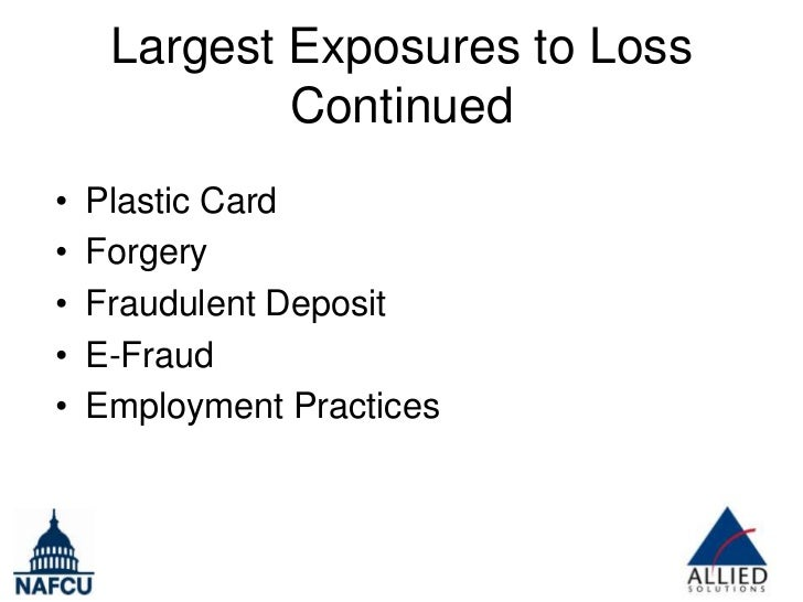 The Top Ten Credit Union Fraud Claims and How to Prevent Them (Conference Presentation Slides) Slide 3