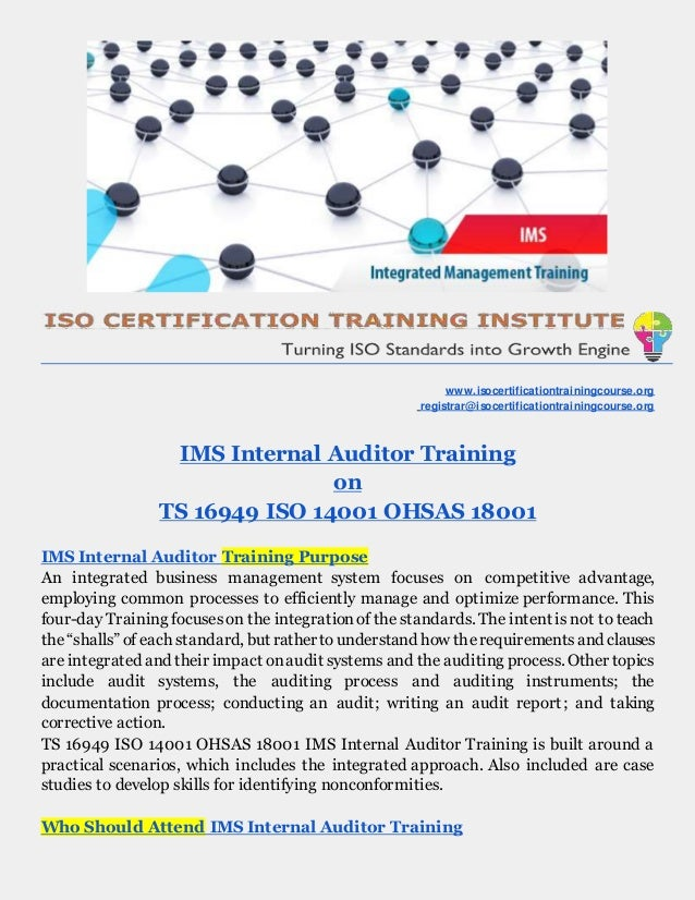 a business case for an iso 14001 essay Win business many large companies and public sector organisations demand that you are certified (most commonly for iso 9001 & iso 14001)  ©qms international 2018.