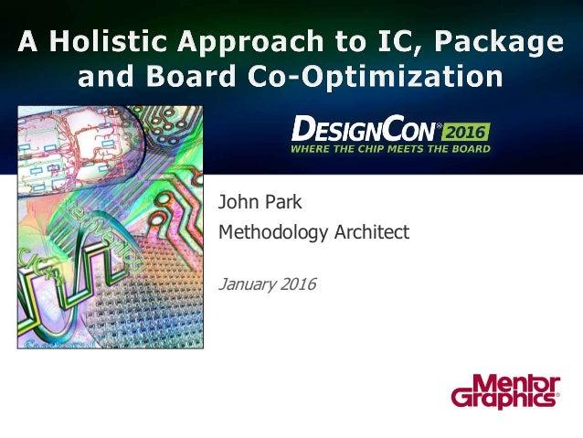 John Park Methodology Architect January 2016