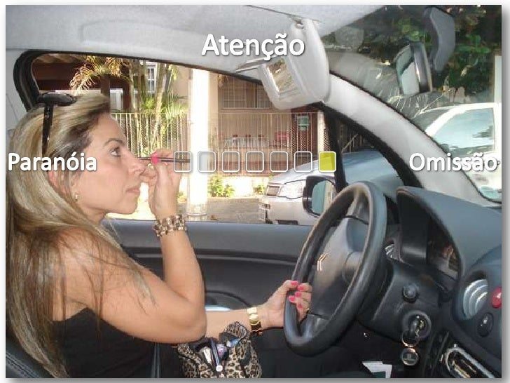 Atenção<br />Paranóia<br />Omissão<br />