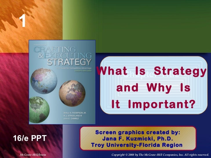 1                      What Is Strategy                         Chapter Title                        and Why Is           ...