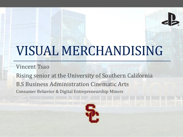 Tsao, vincent visual merchandising internship
