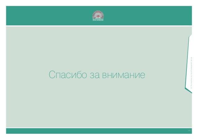 """Навигационный проект """"Царицыно"""". Дизайн-исследования."""