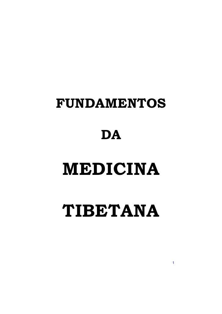FUNDAMENTOS      DA  MEDICINA  TIBETANA                1