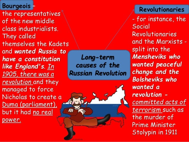 What Caused the Russian Revolution of 1917?