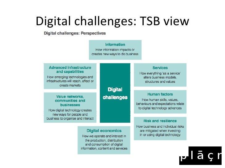 TSB Digital Services Challenges- Jonathan Raper Slide 2