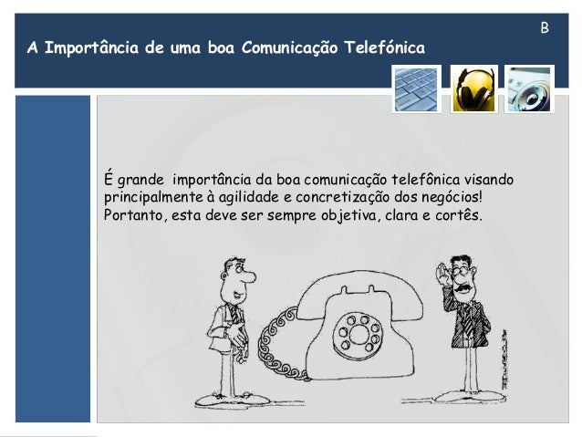 boa comunicação telefonica Slide 3