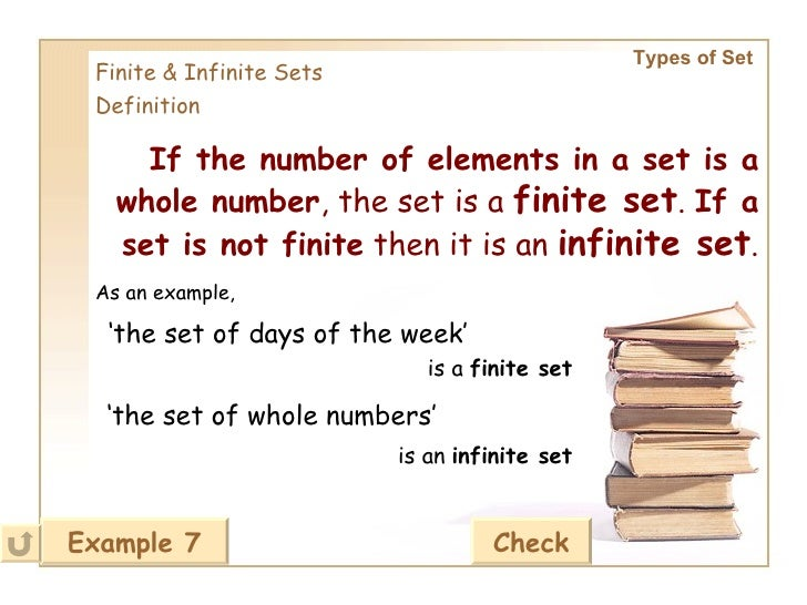 ... 28. Types Of Set Finite U0026 Infinite Sets Definition ...