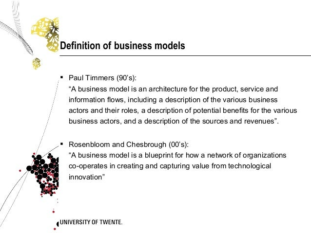 Bsc colloquium business model engineering and testing research 3 definition of business malvernweather Choice Image