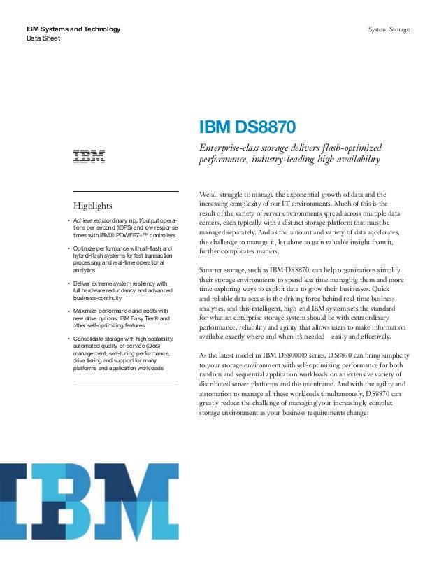 IBM DS8870