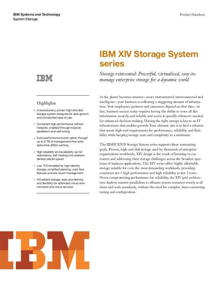 IBM Systems and Technology                                                                                           Produ...