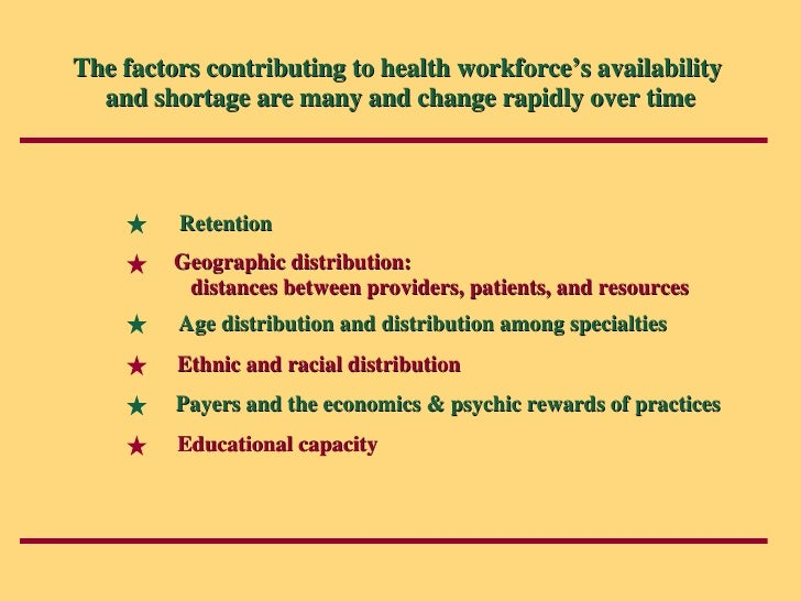 the factors contributing to the shortage of nurses in united kingdom Demand and supply models to forecast the rn job shortage in each of the 50  states letter grades were  to hospitals4,5 since 1998, the united states has  experi- enced a  an rn is a health care professional defined by bls as  responsible for implementing the practice  age is the most significant factor in  the shortage.