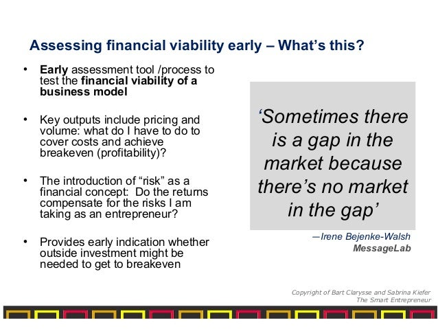 financial viability Financial viability is the ability of an entity to continue to achieve its operating objectives and fulfill its mission over the long term learn new accounting terms.