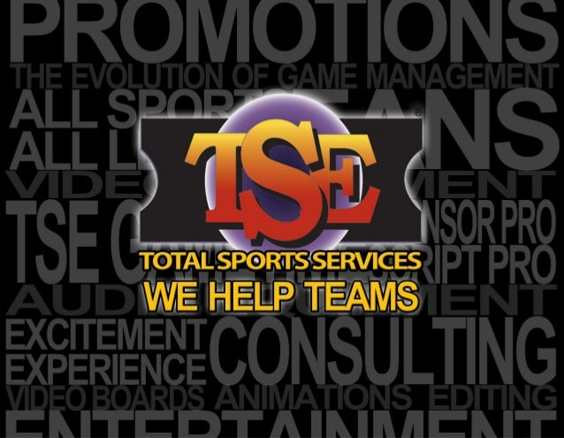 T  SE Services is a full-service sports entertainment and game production solutions and software company. TSE offers sport...