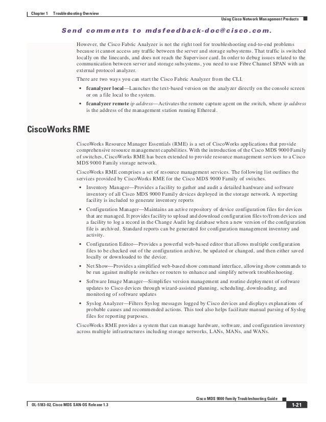 Ciscoworks Network Management