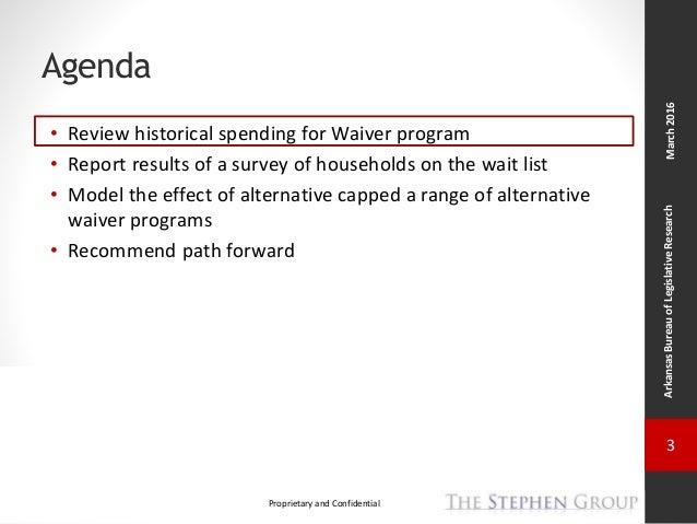 Arkansas Health Care Reform Task Force – ID/DD Wait List Slide 3