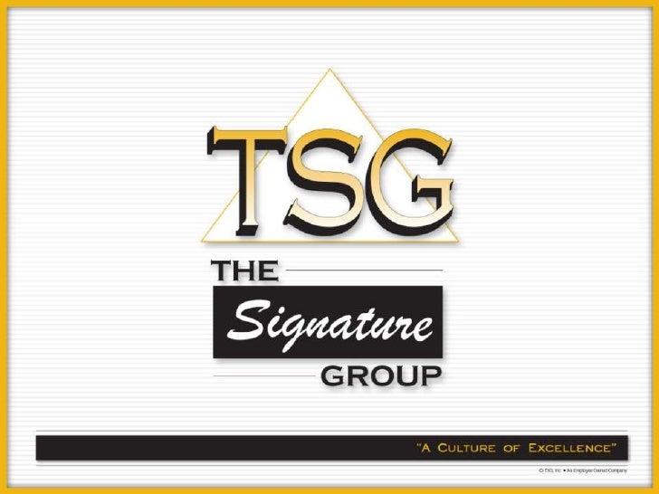 SignatureCare   Managed Services   Portfolio Overview