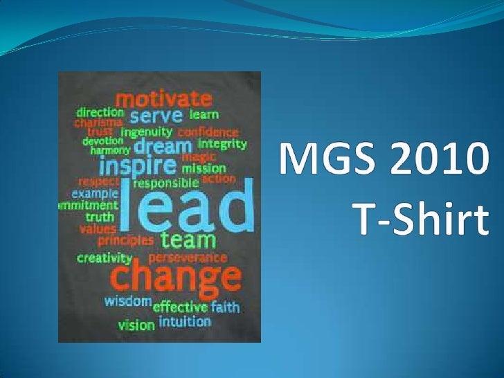MGS 2010 T-Shirt<br />